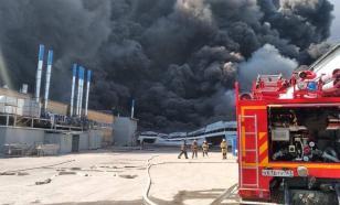 В Самаре локализован пожар на складе с краской