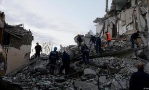 Мощное землетрясение обрушилось сегодня на Албанию: есть жертвы