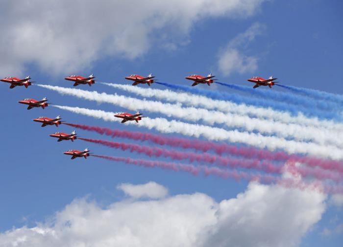 Российские и сирийские лётчики готовятся к Параду Победы