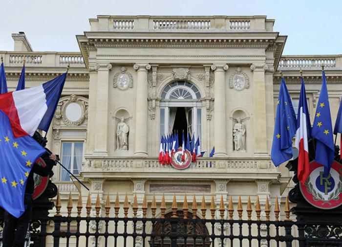 МИД Франции выразил протест из-за российских санкций в адрес ЕС