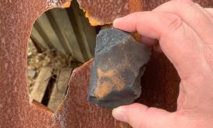 Обломок метеорита упал на собачью будку в Коста-Рике