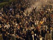 Протестующих египтян атаковали на верблюдах