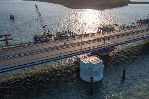 Украина в истерике: Крымский супермост полностью готов