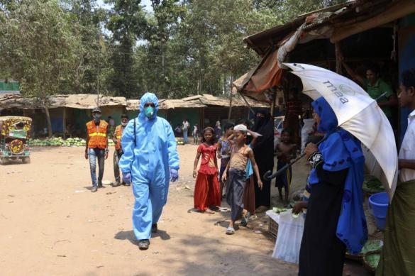 Первый случай COVID-19 обнаружен в лагерях рохинджа в Бангладеш