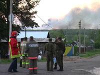 Высокая температура стала причиной новых взрывов в Удмуртии.
