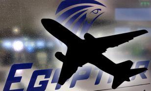 Черные ящики упавшего египетского самолета пока не найдены