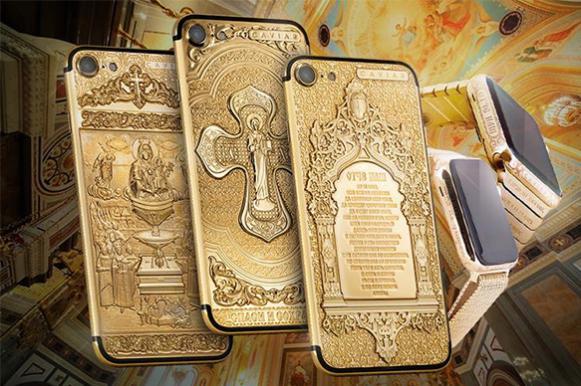 "РПЦ о золотых iPhone: ""Пошлятина какая-то!"""