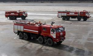 SSJ-100 загорелся в Шереметьеве из-за неисправности электрооборудования