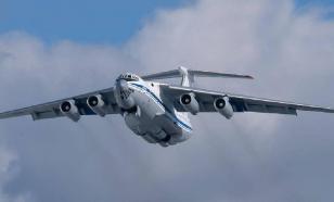 В Италию прибыл пятнадцатый самолет ВКС России