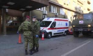 Российские военные провели дезинфекцию больниц в Белграде