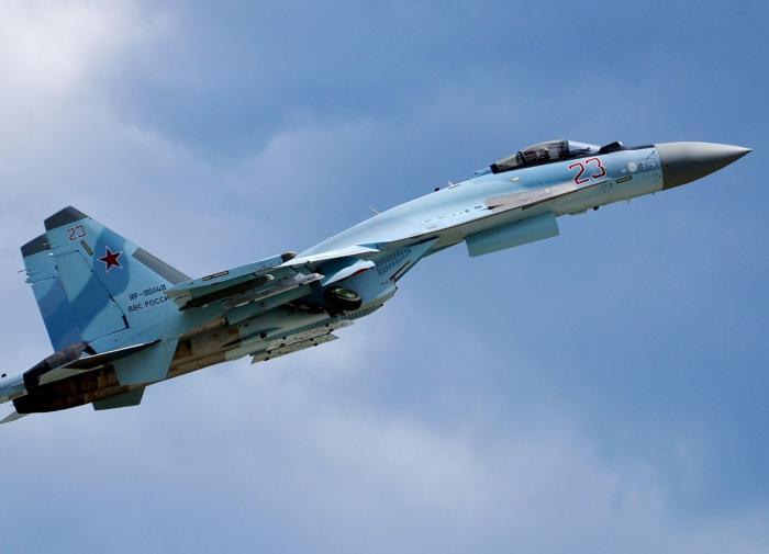 Российский Су-35С мог сбить собственный самолёт