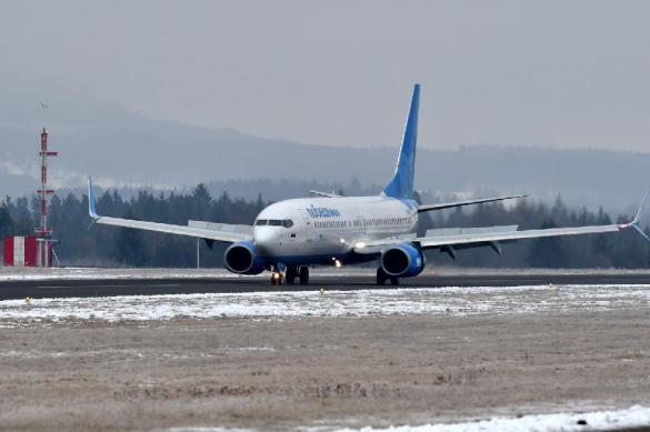Российскому самолету запретили приземлиться в Эмиратах