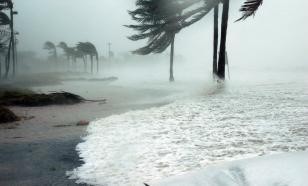 """Сильнейший ураган """"Олаф"""" обрушился на побережье Мексики"""