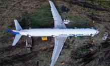 Севший в кукурузном поле A321 разрежут на части и утилизируют