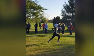 Легкоатлетку в США дисквалифицировали за использование хиджаба