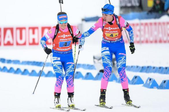 Хованцев ждёт медали в женской эстафете на ЧМ по биатлону