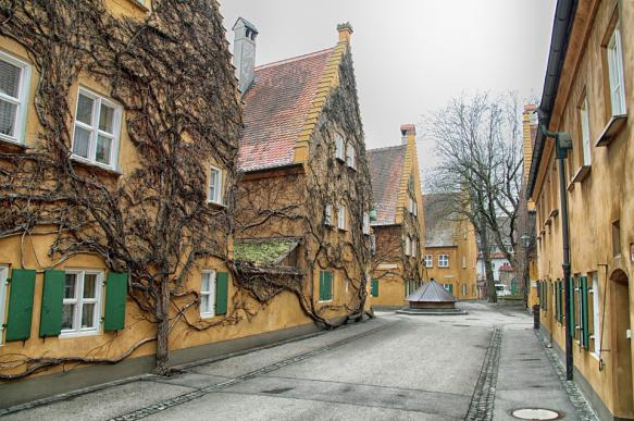 Аугсбург - старинное золото Швабии