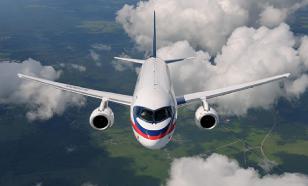 Sukhoi Superjet 100 не смог вовремя вылететь из Екатеринбурга по техническим причинам