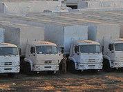 Колонна с гуманитарной помощью отправилась на Донбасс