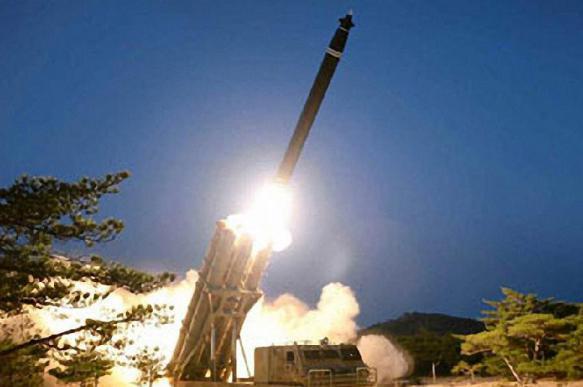 КНДР провела испытания многозарядной пусковой установки
