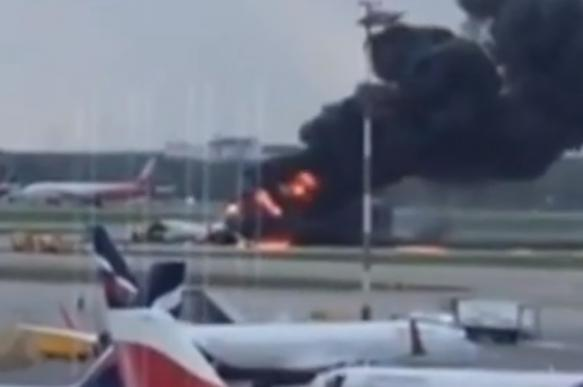 Почему Superjet садился в Шереметьеве с баками, полными топлива