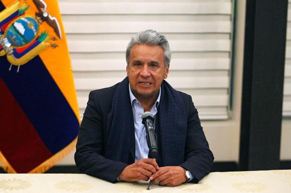 Президент и премьер Эквадора покинули столицу из-за массовых протестов