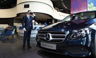 В серию автомобилей Mercedes-Benz установили неисправные детали