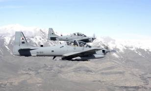 Самолет афганских ВВС упал в Узбекистане