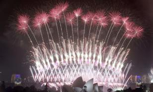 Сидней встретил Новый год фейерверками