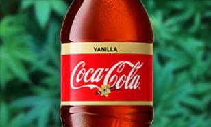 Coca-Cola хочет выпускать газировку из марихуаны ради роста продаж