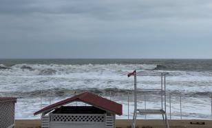 В Крыму объявлено штормовое предупреждение из-за сильного ветра