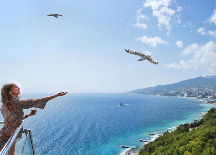 В прошлом году турпоток в Крым снизился на 15%