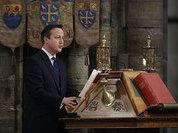 Британский премьер принес присягу королеве