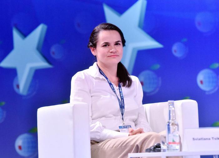 """Тихановская: """"Я готова возглавить страну в переходный период"""""""