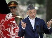 США угрожают, Карзай торгуется