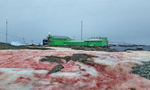 """""""Кровавый снег"""" накрыл украинскую антарктическую станцию"""