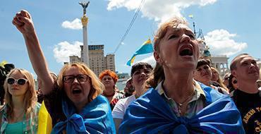 Украинцы предпочитают не думать о войне и посещать рестораны