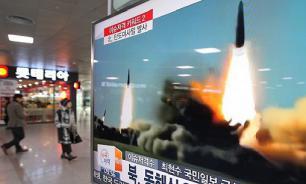 """Северная Корея """"пальнула"""" двумя ракетами в сторону Приморья"""
