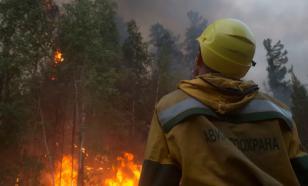 Более тысячи парашютистов задействовали в тушении лесных пожаров в Якутии