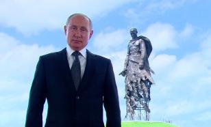Процесс съемок обращения Путина попал на видео