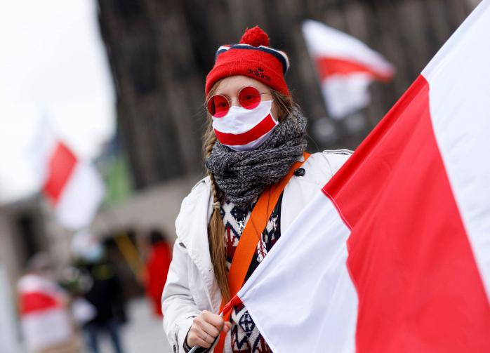 В Белоруссии решили запретить флаг, ставший символом протеста