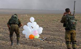 Израиль нанёс удар по сектору Газа. Поводом стали воздушные шары