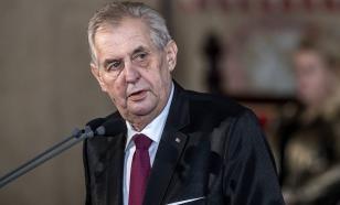 Президента Чехии госпитализировали из-за обезвоживания и истощения