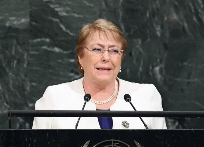 Глава ООН по правам человека осудила применение насилия в Белоруссии