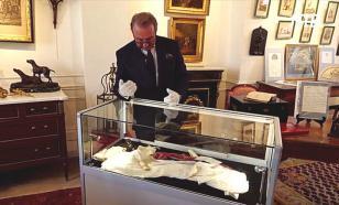 На аукционе во Франции продадут вещи Наполеона с пятнами его крови