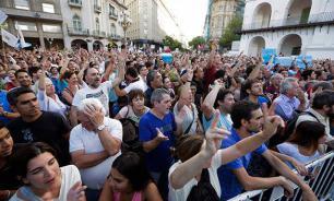 В Аргентине болельщики вышли на митинг против развала сборной