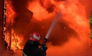 5 детей и 8 взрослых пострадали при пожаре в одном из жилых домов Железноводска
