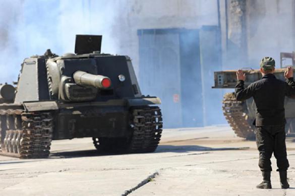 Легендарные танки примут участие в Параде Победы в Севастополе