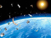 Космический мусор поймают на электроудочку
