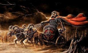Старый натовский Перкун запрягает козлов